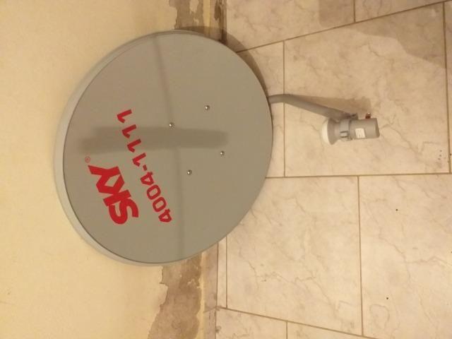 Antena skate nova 1 mês de uso