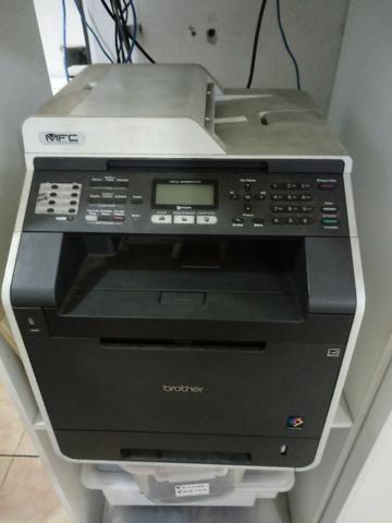 Vendo multifuncional brother colorido laser mfc 9460 valor R$500,00 - Foto 3