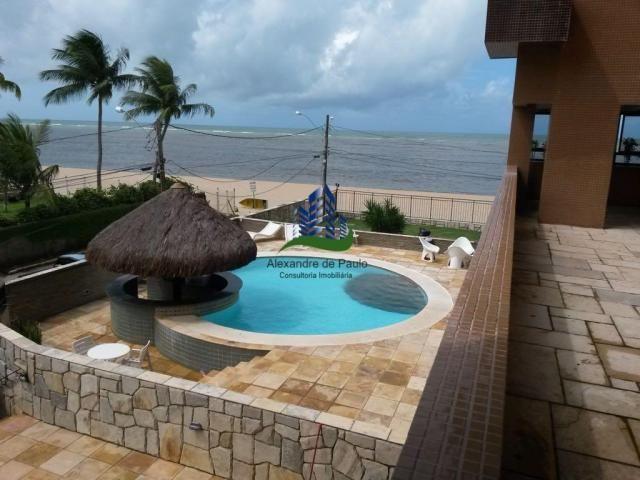 Apartamento alto luxo, 4 quartos, beira mar de candeias - Foto 17