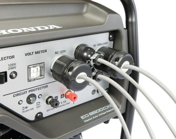 Gerador de Energia Honda EG6500 CXS ( 6,5 KVA ) - Foto 5