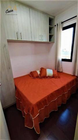 Lindo apartamento com 3 dormitórios à venda, 70 m² por R$ 450.000 - Vila Esperança - São P - Foto 15
