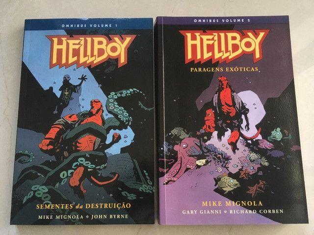 HQs - Hellboy Omnibus Volume 1 e 2