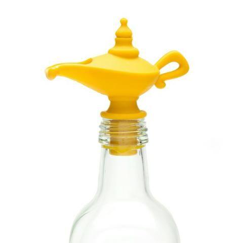 Tampa e Dispenser Dosador para garrafa Lâmpada Aladim - Foto 2