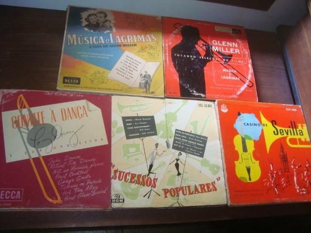 Lotes Discos 10 pol 33 rpm, Eartha Kitt, Francisco Alves, Carlo Buti, Katyna Ranieri, - Foto 4