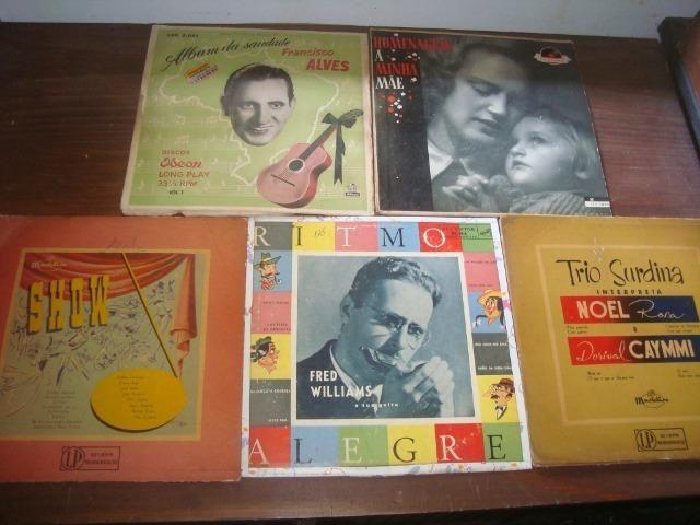 Lotes Discos 10 pol 33 rpm, Eartha Kitt, Francisco Alves, Carlo Buti, Katyna Ranieri, - Foto 3