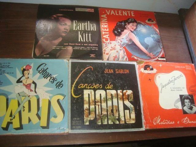 Lotes Discos 10 pol 33 rpm, Eartha Kitt, Francisco Alves, Carlo Buti, Katyna Ranieri, - Foto 6