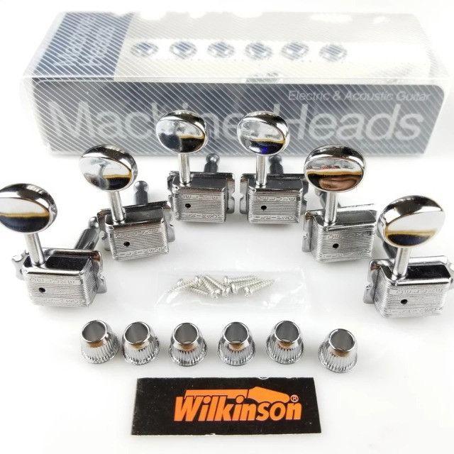 Tarraxas Wilkinson Vintage 6 Em Linha (ñ/é Gotoh Fender) stratocaster telecaster