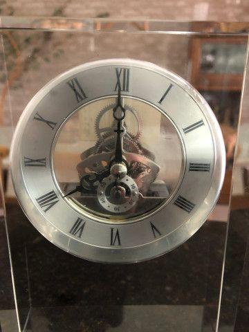 Relógio em Cristal para Decoração  - Foto 3