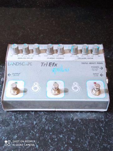 Pedal Tri Efx guitar