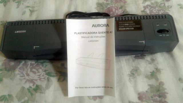 Plastificadora Aurora A3 127V - Foto 2