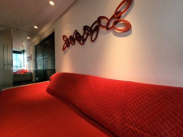 BFN - Luxuoso flat finamente decorado em Boa Viagem com 51m² e piscina na cobertura!  - Foto 4