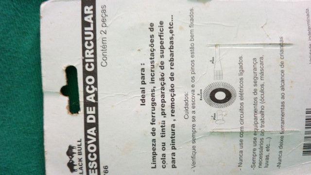 Cj Escova de Aço circular aproveite barato - Foto 2