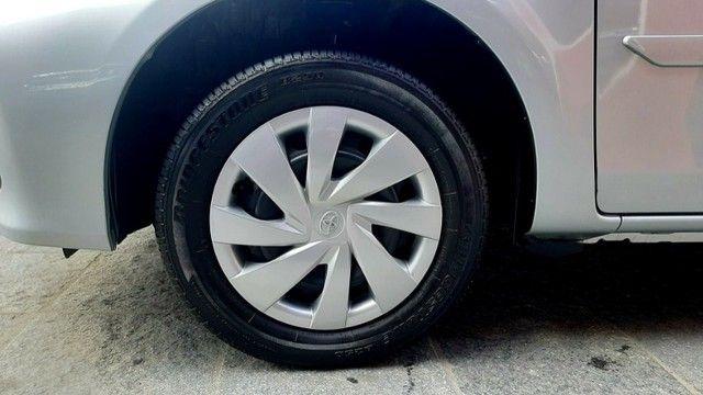 Toyota etios sedan aut X 1.5L vvt-i flex 4p prata 2018 raridade 35.000km ipva2021pgvist.   - Foto 7