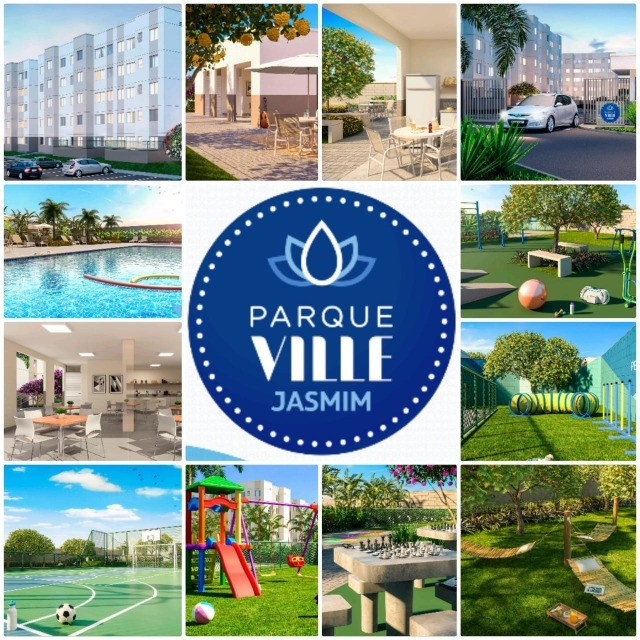 Vendo Apartamento no Parque Ville Jasmim com 2 quartos  - Foto 14