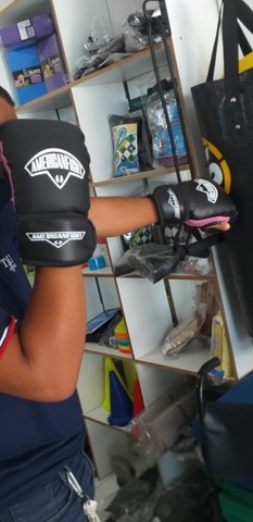 Luva De Boxe Muay Thai Mma Brazuca Promoção - Foto 3