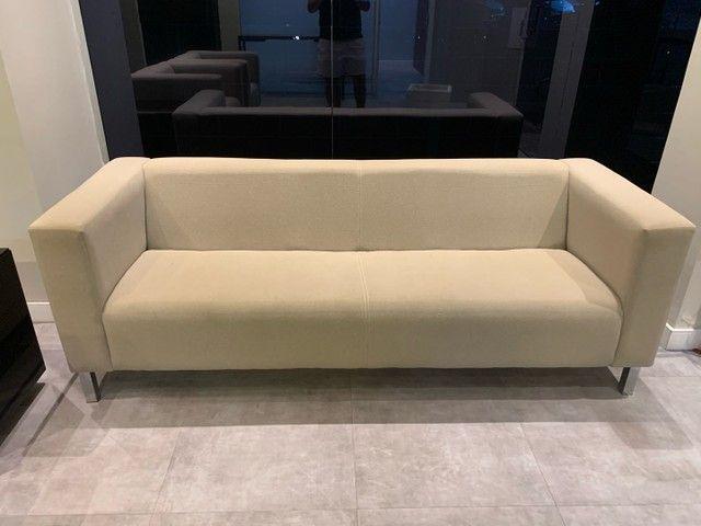 Móveis: sala de estar, espera ou recepção de escritório