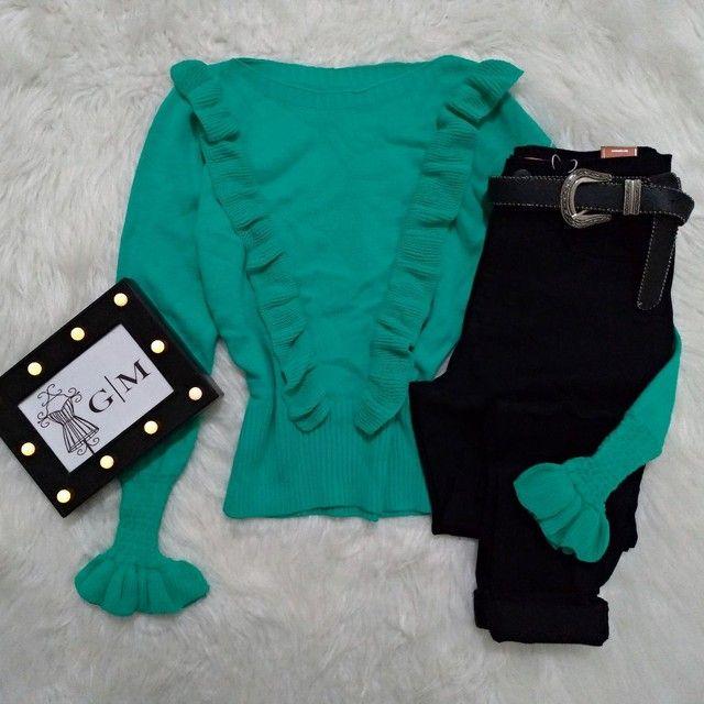 Blusa de tricot - Foto 2