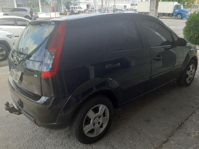 FORD/ Fiesta Hatch 1.6 ANO 2011 cor preta completo - Foto 5