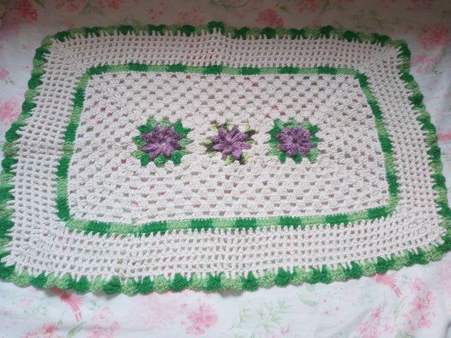 tapetes de crochê - Foto 3