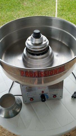 Vendo máquina profissional de fazer algodão doce ( pouquíssimo uso) - Foto 2