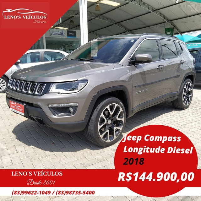 Jeep Compass 2.0 Longitude 2018 Trail Rated 4x4 Diesel Automática