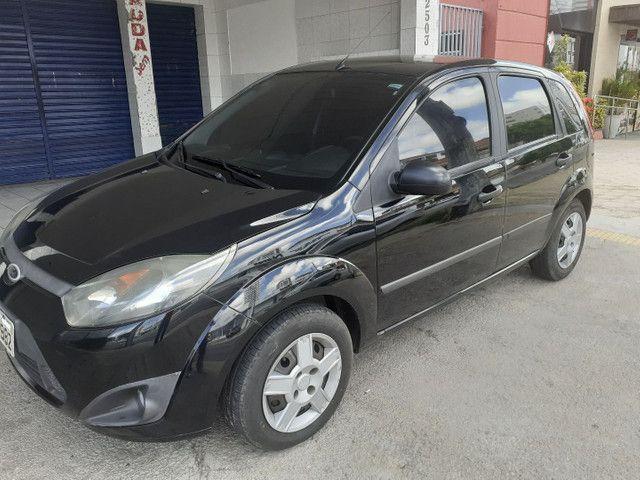 FORD/ Fiesta Hatch 1.6 ANO 2011 cor preta completo - Foto 3