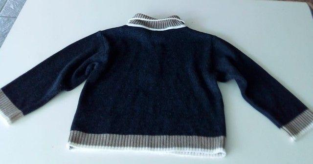 Blusa de lã menino Tam 1 - Foto 3