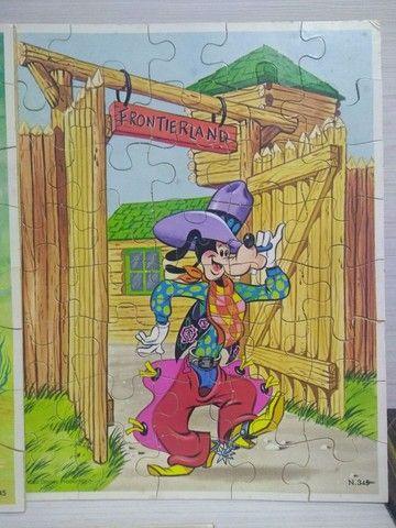 Antigo quebra cabeça Disneylândia - Foto 6
