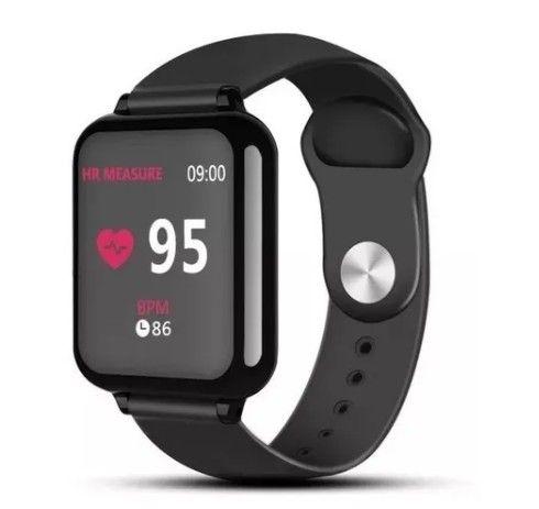 Smartwatch B57 Monitor de saúde Esportes