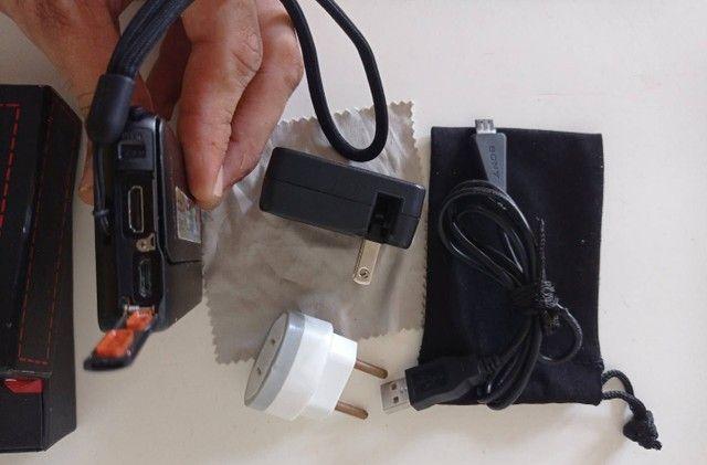 "Câmera Digital Sony Cyber-shot DSC-TX10 16.2 MP LCD 3.0"" Panorâmica3D FullHD à provad'água - Foto 5"