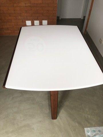 Linda mesa de jantar moderna expansível - Nova!! - Foto 3