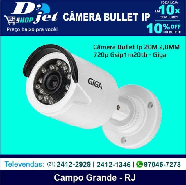 Câmera Bullet Ip 20M 2,8MM 720p Gsip1m20tb - Giga - 205835