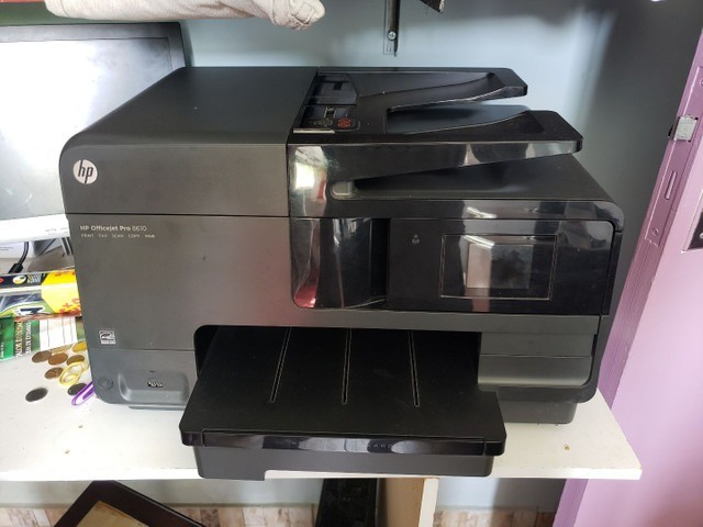 Multifuncional HP 8610 OfficeJet com Bulk Ink - Foto 3