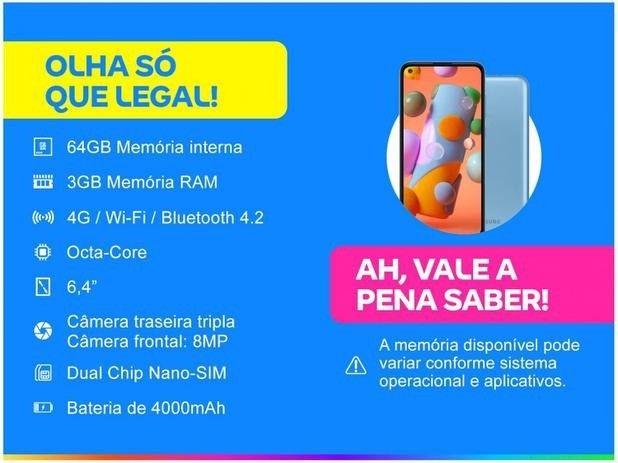 Samsung Galaxy A11 Dual SIM 64 GB azul - Foto 5