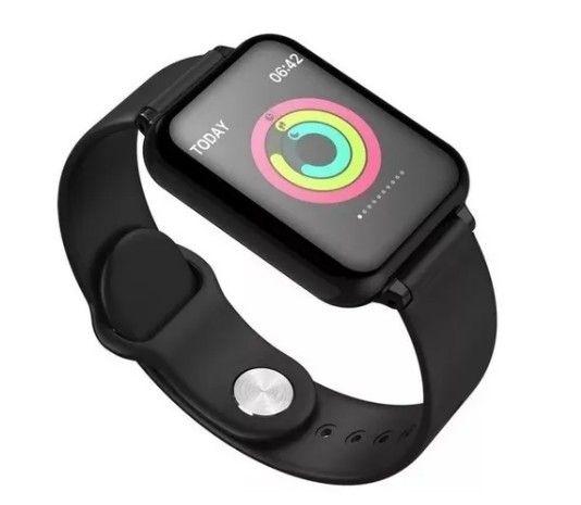 Smartwatch B57 Monitor de saúde Esportes - Foto 2