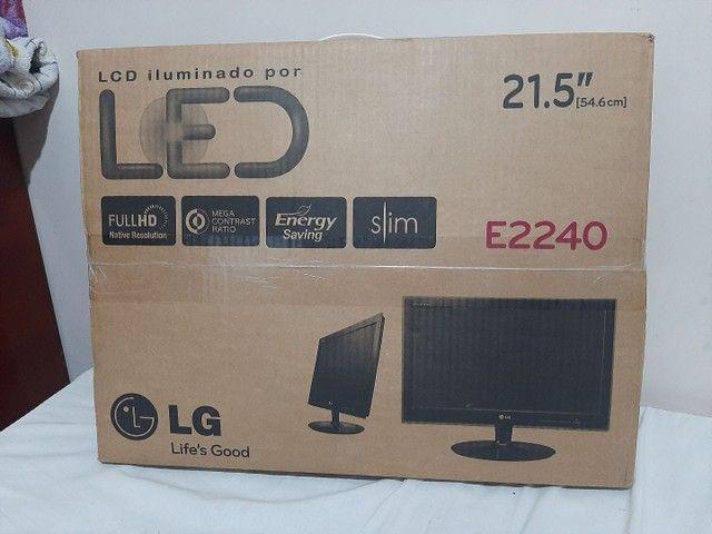 Monitor LG E2240S Com defeito. - Foto 5