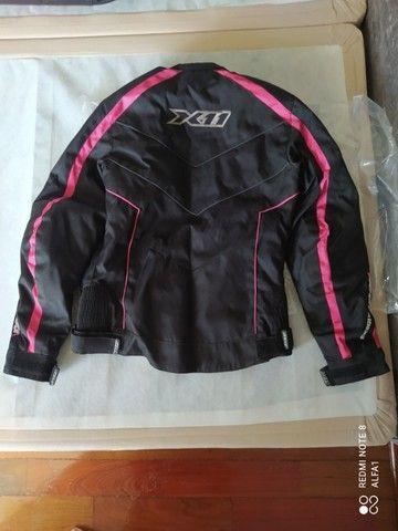 roupa para motociclista X11 tamanho p (s) feminina nova nunca usada - Foto 3