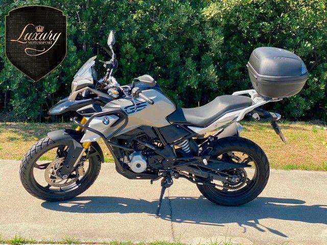 Motocicleta Bmw GS G310 2020 Preta com 600 KM - Foto 3