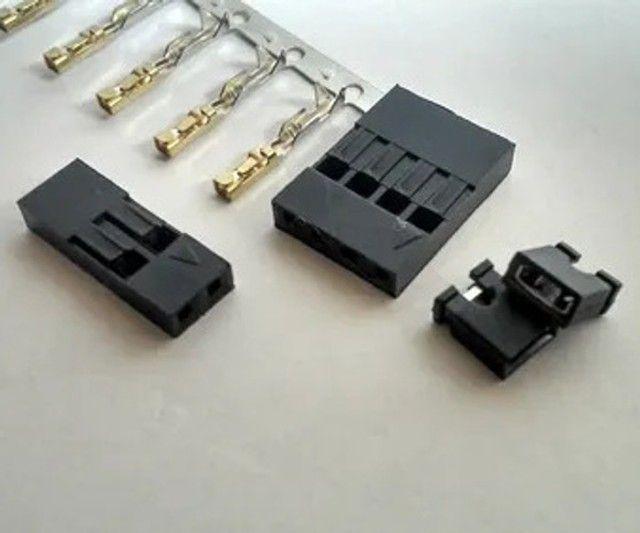 Kit Conectores Para Cnc Shield 4x4 Vias 3x2 Vias 14 Jumpers 22 Terminais - Foto 2