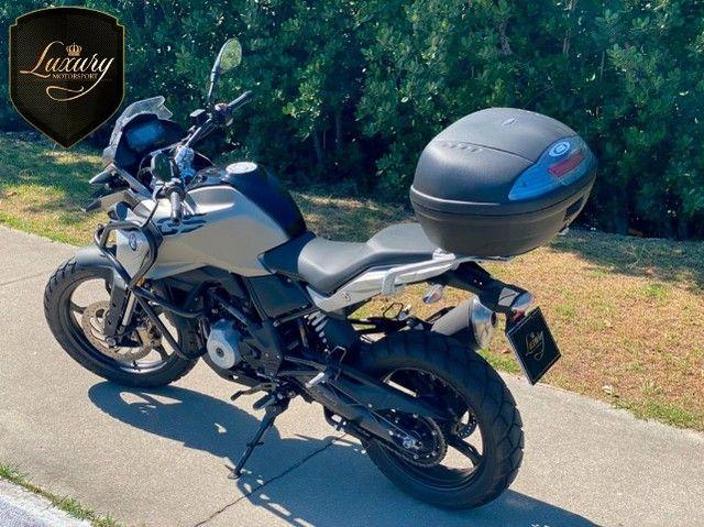 Motocicleta Bmw GS G310 2020 Preta com 600 KM - Foto 6