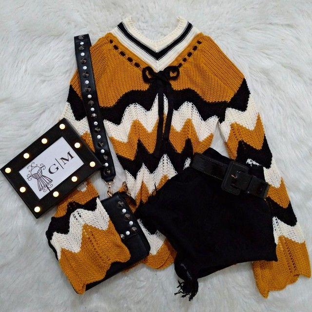 Blusa de tricot