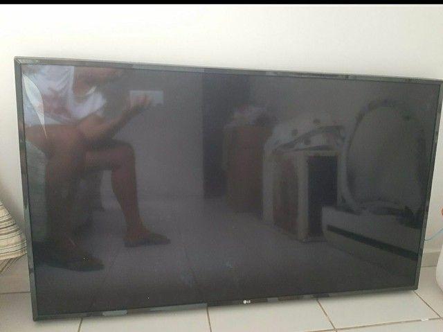 TV 55 polegadas 4k retirada de peças *