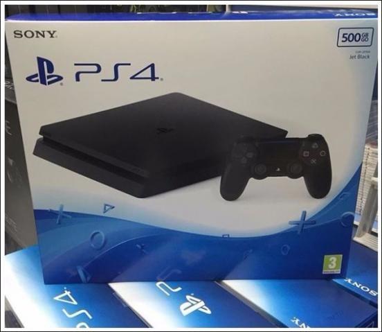 Playstation 4 Slim Novo 1 ano de garantia Oferta Imbatível Comb. Entrega Rápida