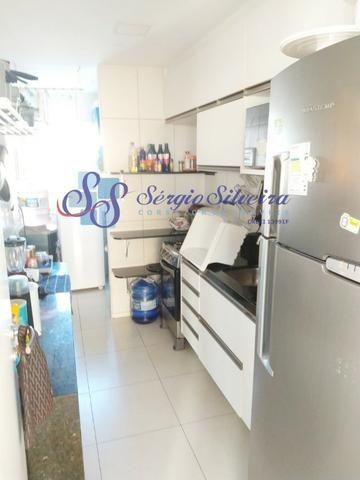Golf Ville Resort Residence Cobertura à venda mobiliada Porto das Dunas - Foto 13