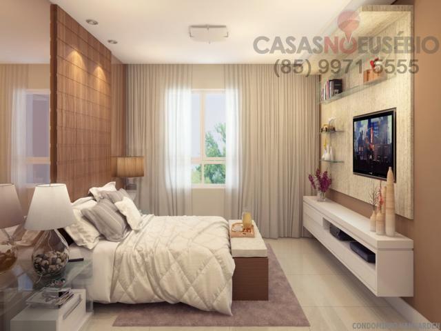 Casa em condominio de 140 m, 3 suites, 2 vagas, nova com lazer, perto ce - Foto 11