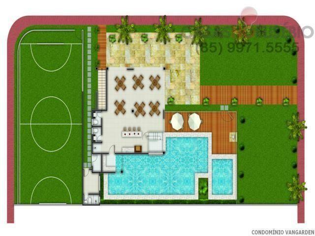 Casa em condominio de 140 m, 3 suites, 2 vagas, nova com lazer, perto ce - Foto 20