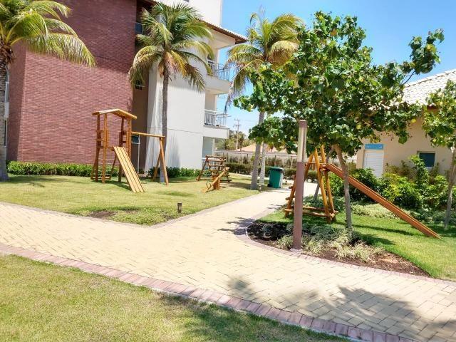 Golf Ville Resort Residence Cobertura à venda mobiliada Porto das Dunas - Foto 14
