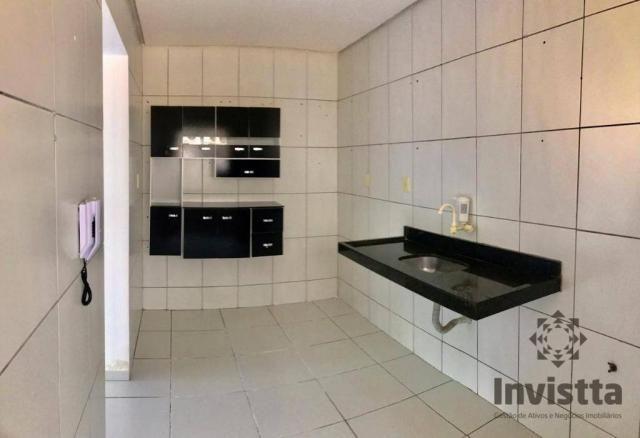Apartamento com 3 quartos para alugar, 66 m² por r$ 950,00/mês - plano diretor norte - pal - Foto 3
