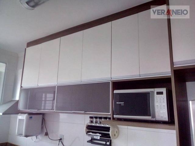 Apartamento com 2 dormitórios à venda, 73 m² por R$ 275.000 - Vila Guilhermina - Praia Gra - Foto 6