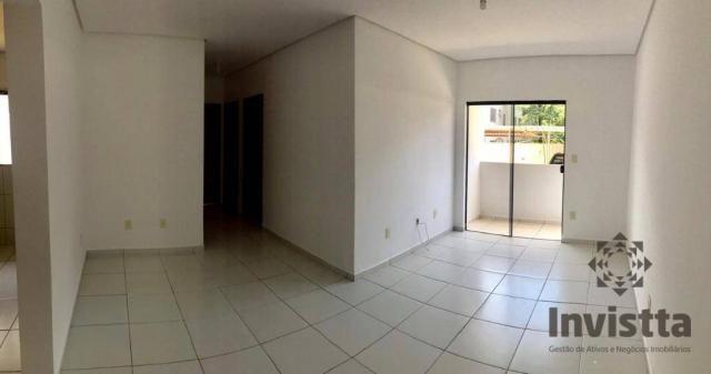 Apartamento com 3 quartos para alugar, 66 m² por r$ 950,00/mês - plano diretor norte - pal